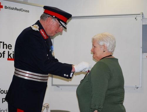 British Empire Medal Presentation to Mrs Ann Brogan BEM on Monday 22 October 2019