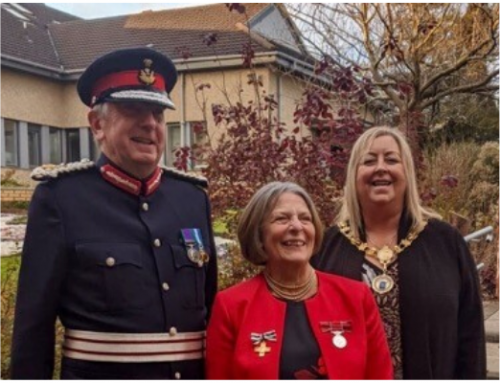 British Empire Medal Presentation to Mrs Jennifer Durward BEM on 15 November 2019