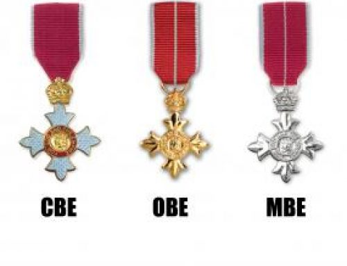 New Year Honours List -2020