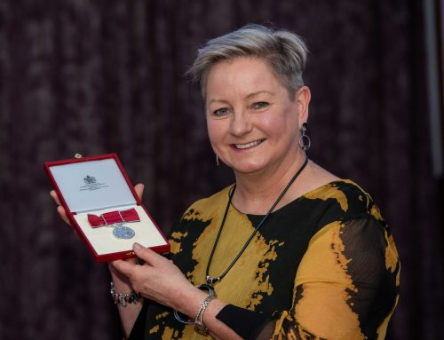 British Empire Medal Presentation to Susan McDonald BEM on 2 December 2019