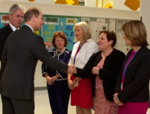 Visit by His Royal Highness The Earl of Wessex to Eastwood High School, East Renfrewshire on 23 November 2015