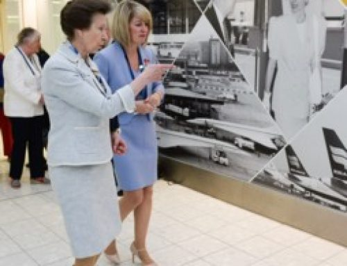 Visit by Her Royal Highness The Princess Royal to Glasgow Airport to Mark its 50th Anniversary on 8 July 2016